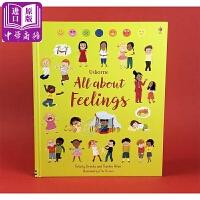 【中商原版】USBORNE:关于感觉All about feelings 情商培养插画