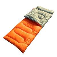 户外睡袋 秋冬季保暖办公室午休羽绒棉双人睡袋
