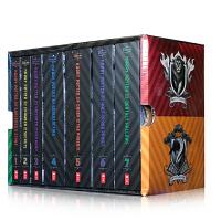 哈利波特1-7全套 英文原版 美版 Harry Potter Books Special Edition 20周年 JK罗琳布莱恩瑟兹尼克科 珍藏礼盒装  青少年经典小说读物 哈利波特与魔法石
