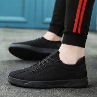 春夏新款男鞋休闲鞋低帮板鞋 韩版男士潮流 运动学生个性鞋子男