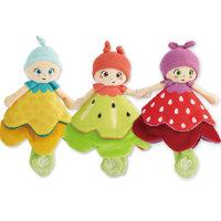 Hape花仙女摇铃布偶娃娃男女孩儿童宝宝毛绒玩具粘扣玩偶挂件0岁+