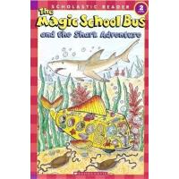 英文原版Magic School Bus Science Reader: And The Shark Adventur