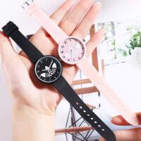 新款韩版小清新手表女时尚简约可爱中学生儿童石英潮流手表