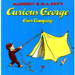 Curious George Goes Camping好奇猴乔治去野营 9780395978351
