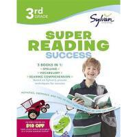 【预订】Third Grade Super Reading Success (Sylvan Super