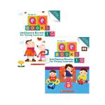【中商原版】学乐智商智能练习本2册 英文原版 QQ Books IQ 1-3岁 创意游戏贴纸书