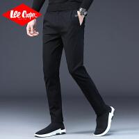 Lee Cooper商务休闲简约舒适运动裤子秋季时尚百搭休闲裤男