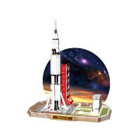 3d立体拼图 探索太空系列宇航员宇宙飞船火星车男孩玩具