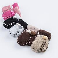 儿童手套冬天保暖 宝宝手套 冬季小孩小童保暖针织毛线手套1-3岁
