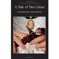 【现货】英文原版 wordsworth经典文学 Tale of Two Cities 双城记 狄更斯作品 新旧封皮*发