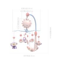 男女孩0-3-6个月床上玩具挂件 婴儿音乐床铃宝宝床头旋转摇铃