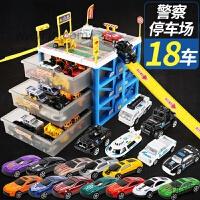 【新品】儿童玩具车模型合金仿真工程车套装消防男孩子0-1-2-3-4岁小汽车6