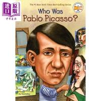 【中商原版】谁是毕加索 Who Was Pablo Picasso 儿童科普文学 章节书 桥梁书 英文原版 7-12岁