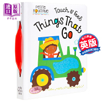 【中商原版】触摸交通书 MBI Petite Boutique Touch and Feel Things That G