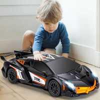 感应变形遥控汽车儿童遥控车金刚5机器人充电动赛车男孩玩具3-6岁