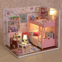 儿童玩具小女孩过家家 5-6-8-9-10岁生日礼物公主手工娃娃屋女童
