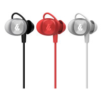 Edifier/漫步者 W285BT蓝牙运动耳机跑步无线入耳颈挂脖式双耳塞式开车通用手机入耳式可接听电话运动型