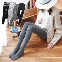 打底裤 女士秋冬新款加绒加厚保暖一体裤女式时尚休闲学生显瘦可外穿打底裤