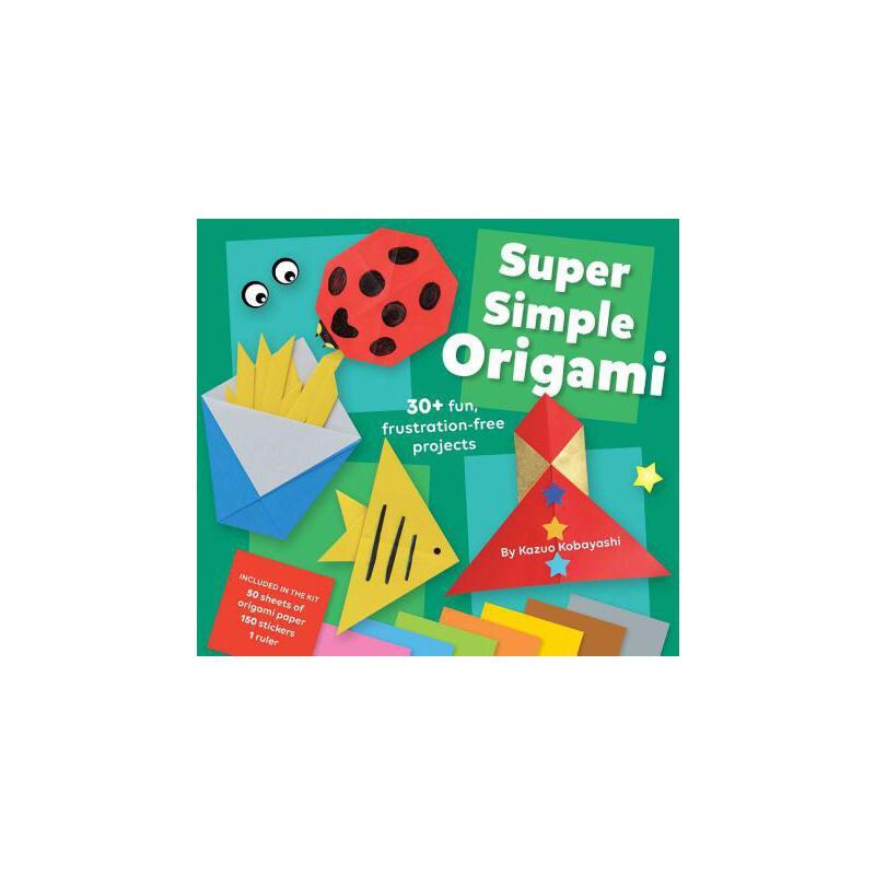 【预订】Super Simple Origami 预订商品,需要1-3个月发货,非质量问题不接受退换货。