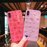 苹果7plus手机壳iPhone8软硅胶套x全包防摔6sp男女款透明简约时尚