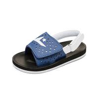 童鞋女童海军风凉鞋夏季小童宝宝休闲凉鞋男童沙滩鞋