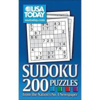 【预订】USA Today Sudoku: 200 Puzzles from the Nation's No.