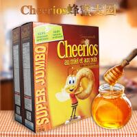 晶磨Cheerios 美国进口蜂蜜麦圈1510g 即食早餐麦圈晶磨麦圈进口麦圈麦片