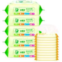 [当当自营]可爱多婴儿口手湿巾80片*5包+10片*10包