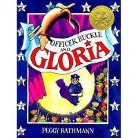 Officer Buckle and Gloria 英文原版儿童书 警官巴克尔和警犬葛芮雅 1996年凯迪克金奖绘本