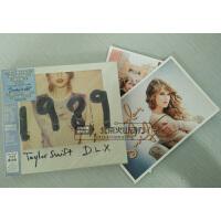 原装正版!Taylor Swift 泰勒史薇芙特 1989 CD 豪华版 连号13张相片+3首MEMO 音乐CD 车载