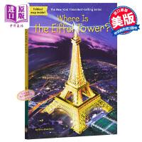 【中商原版】埃菲尔铁塔在哪里? 英文原版 Where Is the Eiffel Tower? 国家地理科普 风景名胜