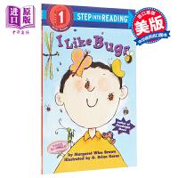 【中商原版】Step Into Reading1:I Like Bugs 阅读进阶1级:我喜欢虫子 儿童分级阅读 英文原