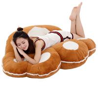 脚掌抱枕靠垫毛绒玩具靠枕大号创意睡觉玩偶坐垫女孩生日礼物女生