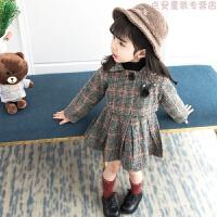 童装女童套装秋冬装2018新款韩版中小儿童时髦洋气连衣裙两件套潮