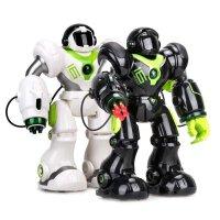 男孩女孩唱歌跳舞可充电机器人遥控机械战警儿童电动玩具