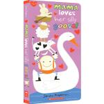 英文原版绘本 Mama Loves Her Silly Goose! 幼儿启蒙认知纸板书 亲子儿歌童谣故事图画书
