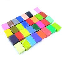 32色软陶泥软陶土泥DIY手工制作橡皮泥玩具彩色粘土 32色软陶泥