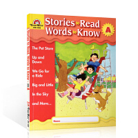 英文原版 Stories to Read Words to Know:LevelA. Student Book 英语教
