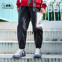 【任选专区3件149元】小虎宝儿变形金刚男童长裤子2021春季款儿童休闲裤中大童