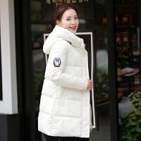 季韩版女装连帽面包羽绒服中款宽松百搭加厚棉衣袄子外套学生潮
