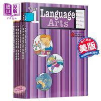 中商原版 Flash Kids语言艺术 6册英文版 Language Arts 英语语法 Harcourt Family