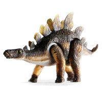 恐龙玩具电动剑龙仿真动物模型会走路的儿童玩具套装