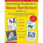 【预订】Teaching Students to Read Nonfiction: Grades 2-4