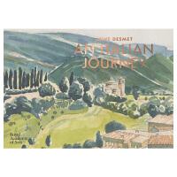 【预订】Anne Desmet: An Italian Journey 安・德斯米风景建筑素描水彩画