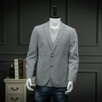 柜子剪标出品春装男式时尚休闲单西修身便西服青年男士小西装百搭