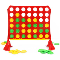 小乖蛋四连环棋立体垂直四子棋亲子互动益智桌面游戏儿童玩具