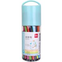 得力(deli) 6955 许愿瓶系列水彩笔(颜色随机)(36色/筒) 可爱水杯造型 当当自营