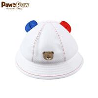 【2件2.5折 到手价:40】Pawinpaw卡通小熊童装夏款婴幼儿新款男宝宝撞色帽子
