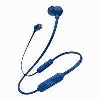 JBL T110BT 蓝色 无线蓝牙 入耳式耳机 运动耳机 手机耳机 游戏耳机