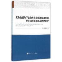 复杂性视角下金融市场*风险溢出的群体动力学机制与路径研究 刘湘云 9787514166859 经济科学出版社